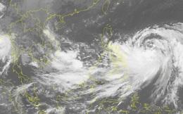 Xuất hiện một vùng áp thấp có khả năng mạnh lên trên Biển Đông