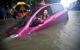 Khi con gái lái ô tô!