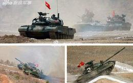 Hoành tráng cuộc thi Tank Biathlon phiên bản Triều Tiên