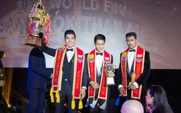 Ngọc Tình hạ gục chủ nhà Thái Lan, đăng quang Nam vương Quốc tế 2017