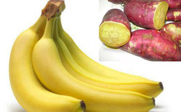Hai quả chuối, 1 củ khoai mỗi ngày không còn nỗi lo triệu chứng đáng sợ này