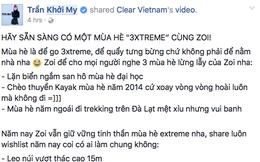 "Sao Việt ""đua nhau"" tìm kiếm 3XTREME SUMMER"