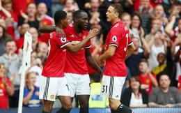 Premier League vòng 1: Man United 4-0 West Ham