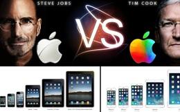 """Những """"cung bậc cảm xúc"""" của Apple dưới thời Tim Cook và Steve Jobs"""
