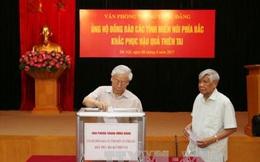 Tổng Bí thư quyên góp, ủng hộ người dân vùng mưa lũ