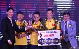 Vượt mặt Xuân Trường, ĐT Futsal Việt Nam được vinh danh giải Fair Play 2016