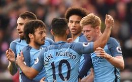 """[Cập nhật video] Man City 5-0 Crystal Palace: Màn """"vùi dập"""" của The Citizens"""