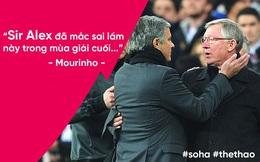 """Mourinho chỉ ra sai lầm """"chết người"""" khiến Man United khốn đốn của Sir Alex"""