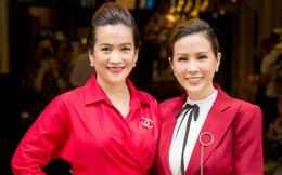 Bà xã Bình Minh đọ sắc cùng Hoa hậu Thu Hoài
