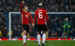 Man United thăng hoa bằng nhịp thở của Pogbahimovic
