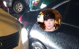 Nathan Lee gặp tai nạn ô tô trên đường đi diễn