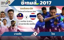 """Thái Lan tung """"đòn gió"""", Malaysia mạnh mẽ đáp trả ngay trước giờ G"""