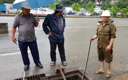 """Ông Nguyễn Tăng Cường: """"Công nhân phát hiện một đoạn cống dài 100m bị đổ chất Bentonite"""""""