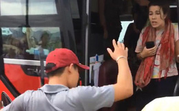Người quay clip phủ nhận chuyện nữ du khách say xỉn, nhổ nước bọt vào phụ xe