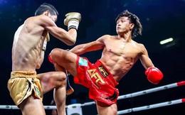"""Đệ nhất Muay Việt """"lên đồng"""", tung cơn mưa đòn hạ đo ván võ sĩ Trung Quốc"""