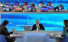 Người Nga muốn nghe ông Putin nói về bầu cử 2018 trong cuộc giao lưu trực tuyến hôm nay