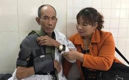 Bắt tạm giam người cha lái ô tô trong vụ đánh thương binh chiều 28 Tết