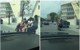 Hình ảnh người phụ nữ trên phố Hà Nội khiến cánh đàn ông tái mặt ái ngại