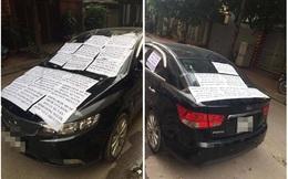 Thêm một chủ xe nhận bài học cay đắng vì hành động thiếu ý thức của mình