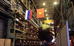 Tàu ngầm Kilo Bà Rịa - Vũng Tàu vào Ấn Độ Dương