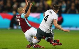 Tiền vệ của West Ham sẽ thoát thẻ đỏ, nếu chơi bóng ở... V.League