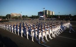 Hình ảnh cuộc diễu hành quy mô lớn ở Cuba