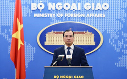 VN lên tiếng về phát ngôn của ứng viên ngoại trưởng Mỹ