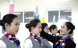 Bên trong lò đào tạo tiếp viên hàng không Trung Quốc