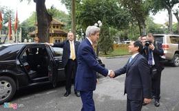 Ngoại trưởng John Kerry thăm Việt Nam trước khi rời nhiệm sở