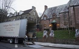 Nhà Obama rục rịch dọn đồ khỏi Nhà Trắng