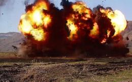 Clip: Pháo binh Nga tập trận tiêu diệt khủng bố ở Tajikistan