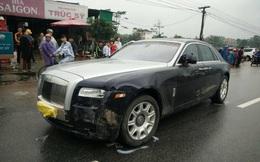Xe sang Rolls Royce gây tai nạn nghiêm trọng trên QL1A