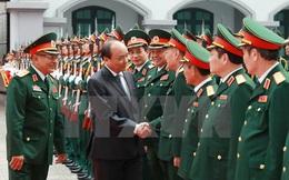 Thủ tướng kiểm tra công tác sẵn sàng chiến đấu của tình báo quân đội