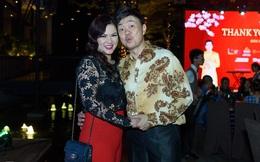 Chí Tài đưa vợ đi dự tiệc của Trường Giang
