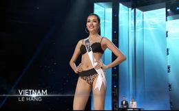 Bán kết Hoa Hậu Hoàn Vũ: Lệ Hằng nổi bật với màn trình diễn bikini