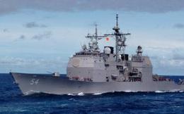 Tuần dương hạm Mỹ nứt toác thân trước khi mắc cạn