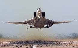 Clip: Oanh tạc cơ Nga ném bom IS, hỗ trợ quân đội Syria ở Deir Ezzor