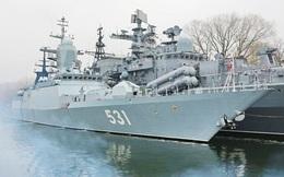 """Hải quân Nga thử nghiệm tàu hộ vệ """"Bất khả chiến bại"""""""