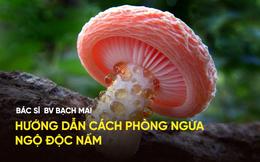Trung tâm chống độc BV Bạch Mai tư vấn phòng ngộ độc nấm đầu năm