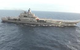 Clip: Tàu sân bay Nga trở về nhà sau nhiệm vụ chiến đấu ở Syria