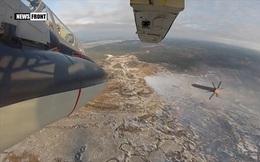 """""""Xe tăng bay"""" Su-34 hủy diệt hàng loạt mục tiêu mặt đất"""