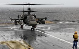 Trực thăng Ka-52K của Nga phát huy sức mạnh tác chiến trên biển