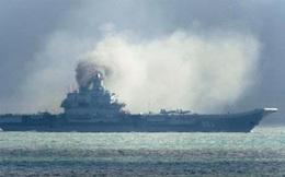Tàu sân bay Kuznetsov xả khói đen: Tàu NATO cũng thế?