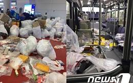 Du khách Trung Quốc lại hồn nhiên biến xe buýt, sân bay Jeju thành bãi rác, bỏ mặc mọi chỉ trích của dư luận