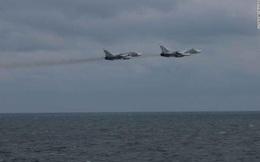 Máy bay Nga - Mỹ áp sát nhau do lỗi hoa tiêu