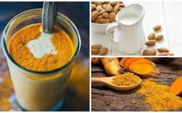 Sữa nghệ hạnh nhân: Bài thuốc chống viêm rất hiệu quả bạn hãy uống ngay khi chớm bệnh