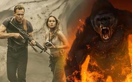 """Kong - Vị vua không ngai và màn trình diễn """"buồn ngủ"""" của Tom Hiddlestone trên Đảo Đầu Lâu"""