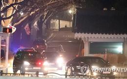 Cựu tổng thống Park Geun Hye đã rời khỏi Nhà Xanh