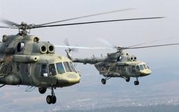 Mỹ lách cấm vận Nga vì... trực thăng Mi-17 Afghanistan