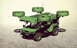 Ý tưởng xe quân sự lai máy bay của Ukraine